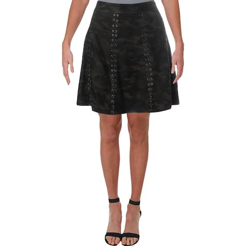Haute Hippie Womens Mini Skirt Embellished Mini - 10