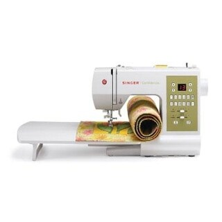 Singer 7469Q Confidence Quilter Electric Sewing Machine With 98-Stitch White