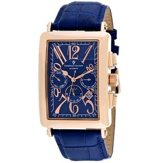 Christian Van Sant Men's Prodigy CV9142 Blue Dial Watch