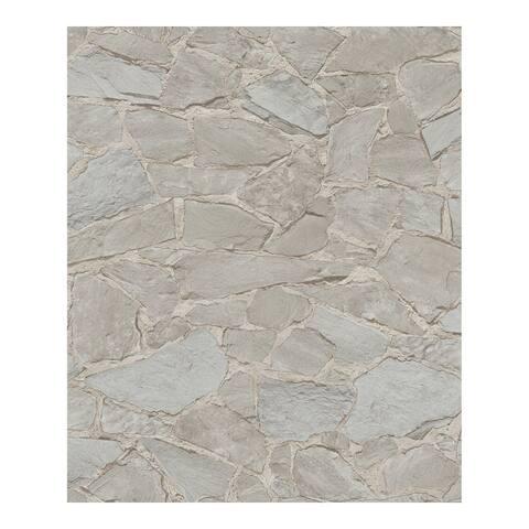 Stanley Brown Stone Wallpaper - 20.5 x 396 x 0.025