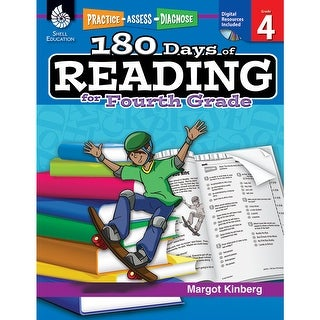 180 Days Of Reading Book For Fourth