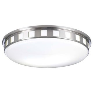 PLC Lighting PLC 1958 Flushmount Ceiling Fixture from the Paxton Collection - Grey