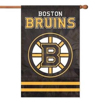 Party Animal Afbru Bruins Applique Banner Flag