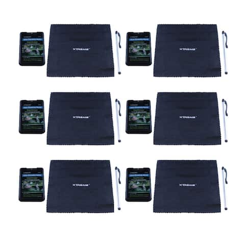 Digipower LCD and Plasma TV/Monitor Screen Cleaning Kit (6-Pack)