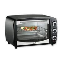 Avanti Pow61b 0.6 Cu. Ft. Rotary Toaster Oven Broiler - Auto Shut-Off