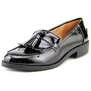 Steve Madden Meela Round Toe Synthetic Loafer