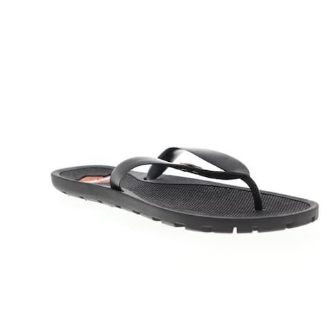 Harley-Davidson Mills Black Mens Flip-Flops Sandals