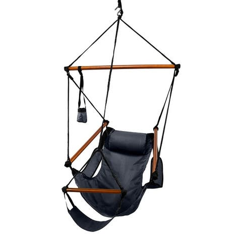 Deluxe Wood Hammock Chair