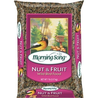 Morning Song 7Lb Nut&Fruit Bird Seed
