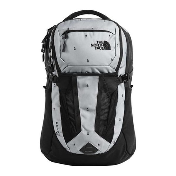 fa9483069 Shop The North Face Recon Backpack Mid Grey Campfire Print/TNF Black ...