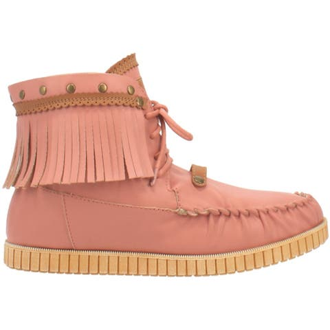 Code West Crae Crae Lace Up Womens - Pink
