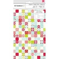American Crafts Cards W/Envelopes 8/Pkg-Patchwork Candy