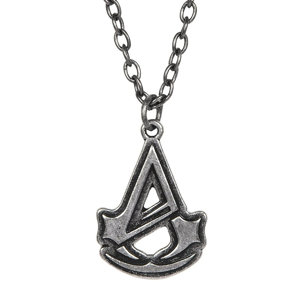 Shop Assassin S Creed Unity Logo Silver Necklace Multi