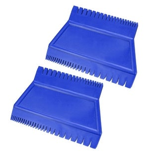 Wood Graining Rubber Grain Tool Pattern Wall Painting DIY Blue 3inch Wide 2Pcs - ms15 2pcs - MS15 2pcs