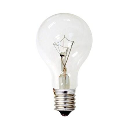 GE 74037 Decorative Incandescent Ceiling Fan Light Bulb, 40 Watts, 120 Volt