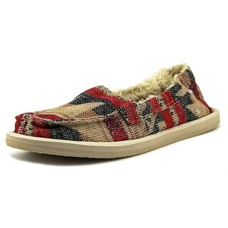 Sanuk Shorty TX Chill Round Toe Canvas Loafer