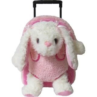 Kreative Kids Girls Pink Bunny Plush Roller - One size