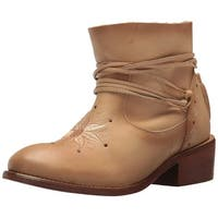 Musse & Cloud Womens KYLIE Leather Closed Toe Ankle Fashion Boots