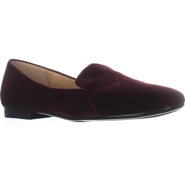 naturalizer Emiline Classic Slip On Loafers, Bordo