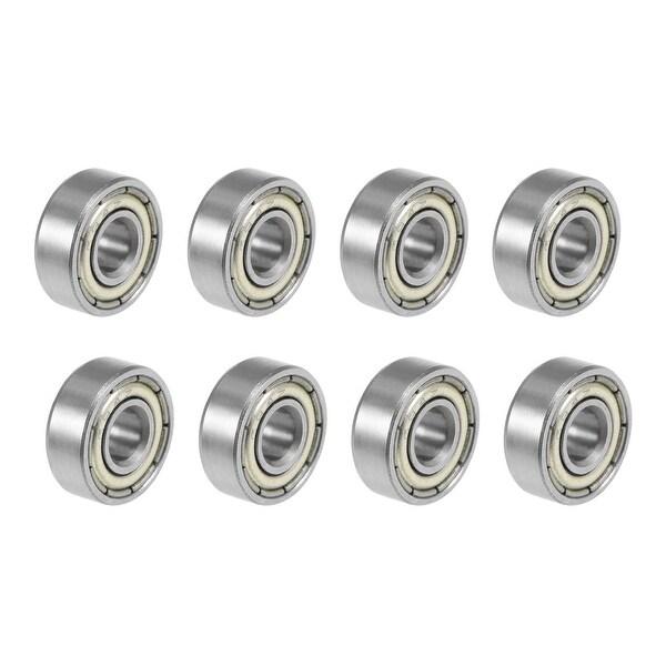 694ZZ Deep Groove Ball Bearings Z2 4x11x4mm Double Shielded Carbon Steel 8pcs