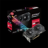 ASUS TeK  4GB GDDR5 Video Card with ASUS Aura Sync