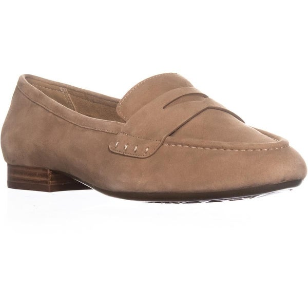 Aerosoles Map Out Slip On Loafers , Light Tan Suede