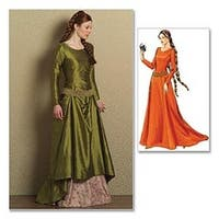 Aa (6-8-10-12) - Misses' Medieval Dress And Belt