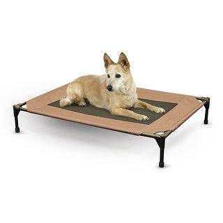 "K&H Pet Products Pet Cot Large Chocolate 30"" x 42"" x 7"""