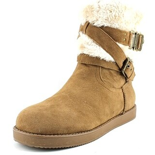 G By Guess Azzie Round Toe Canvas Winter Boot