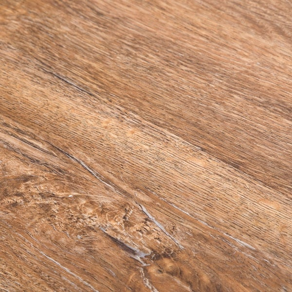 "Build Surfaces BSV-FA01020-G Natural Path Wood Imitating 6"" x 48"" Luxury Vinyl Plank Flooring - Sold by Carton (39.97"