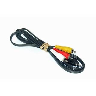 OEM Toshiba Audio Video AV Cable Originally Shipped With: SD-P1400U, SDP1600STN, SD-P2600, SDP2700, SDKP12U, SD-KP12U