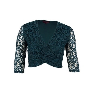 Material Girl Juniors' Lace Cropped Top - xL