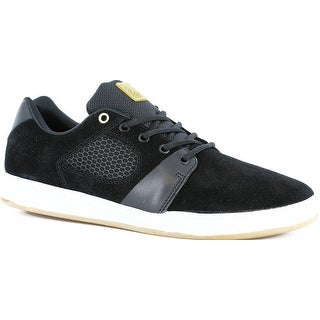 The Accelerate Mens Skateboarding Shoes By Es - Black/White