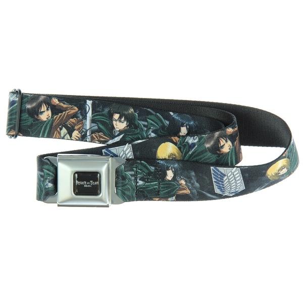 Attack on Titan Comic Manga Clash Seatbelt Belt-Holds Pants Up