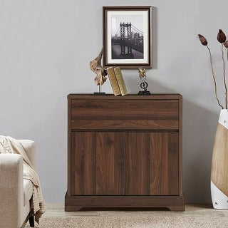 Link to Gymax Buffet Sideboard Server Cupboard Cabinet Console Table W/ Similar Items in Dining Room & Bar Furniture