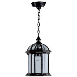 "DVI Lighting OCA140805 1 Light 8"" Chain Hung Lantern from the Hexagon Collection"