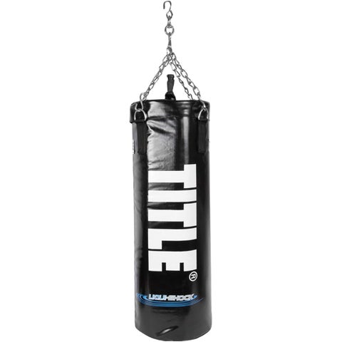 Title Boxing Liquishock Foam/Water Heavy Punching Bag - Black
