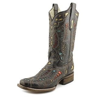 Corral A2953 Women Square Toe Leather Western Boot