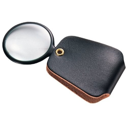 General 532 Pocket Magnifier Glass, 2.5X