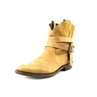 Independent Boot Company Yukon Women  Round Toe Leather Tan Ankle Boot