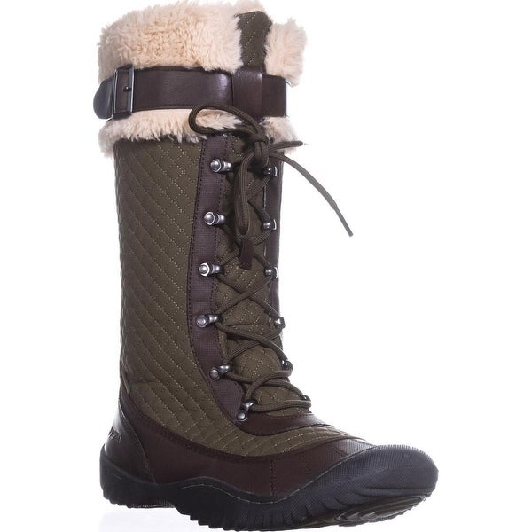JSport by Jambu Wingate Mid-Calf Snow Boots, Army