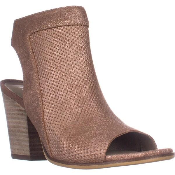 naturalizer Yanni Heeled Zip Sandals, Rose Dust