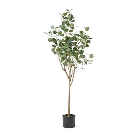 Adair 5' x 2' Artificial Eucalyptus Tree by Christopher Knight Home