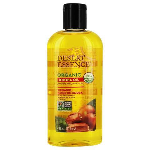 Desert Essence - Organic Jojoba Oil - 4 fl. oz.