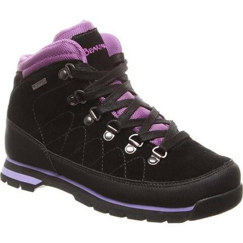 228bd2a01aa Bearpaw Women's Kalalau Solids Waterproof Hiking Boot Black II Suede/Nylon