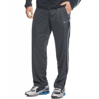 Nike NEW Gray Black Mens Size Small S Epic Traning Athletic Track Pants