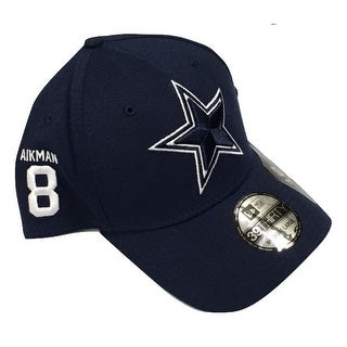 Dallas Cowboys Troy Aikman Rear Stamp Cap
