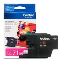 """Brother LC71M Brother Innobella LC71M Standard Yield Ink Cartridge - Magenta - Inkjet - 300 Page - 1 Each"""