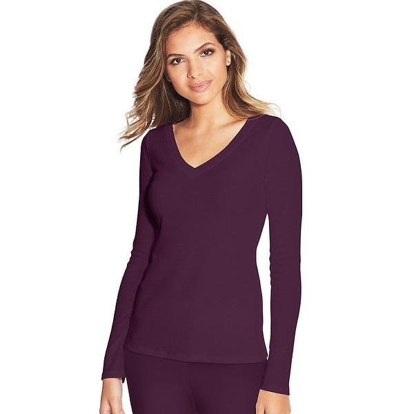 Maidenform Lounge Top - Color - Potent Purple - Size - S
