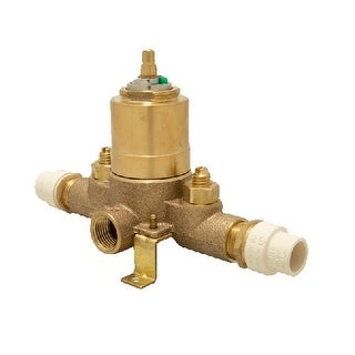 Proflo PF3001C Pressure Balancing Tub and Shower Valve with Stops (CPVC Connecti - N/A